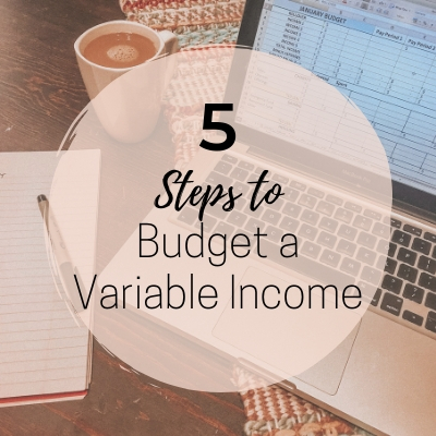 how to budget irregular income