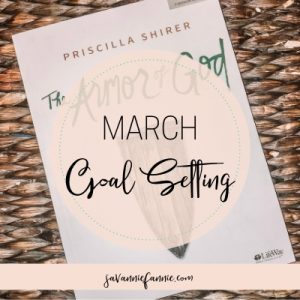march goal setting