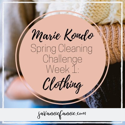 Marie Kondo Spring Cleaning Week 1: Clothing