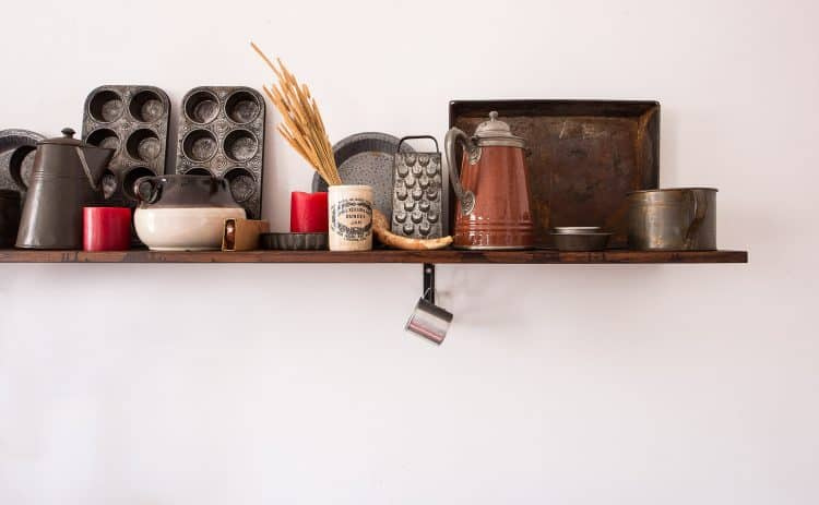 konmari kitchen | shelf