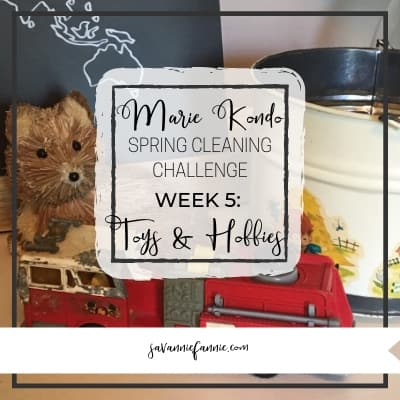 Marie Kondo Spring Cleaning Week 5: Toys & Hobbies